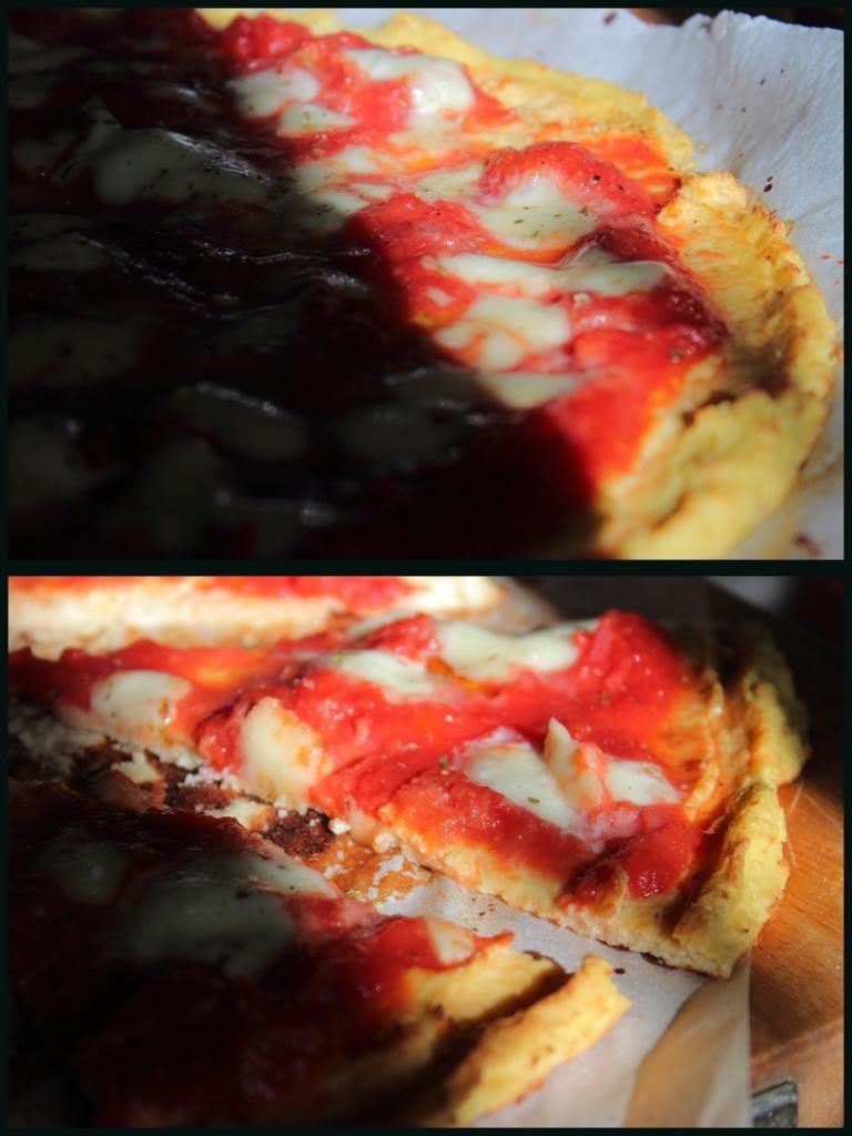 Pizza gluten free con il cavolfiore operazionefrittomisto