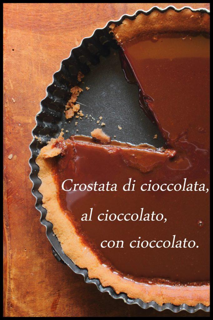 Torta di cioccolato al cioccolato operazionefrittomisto.it
