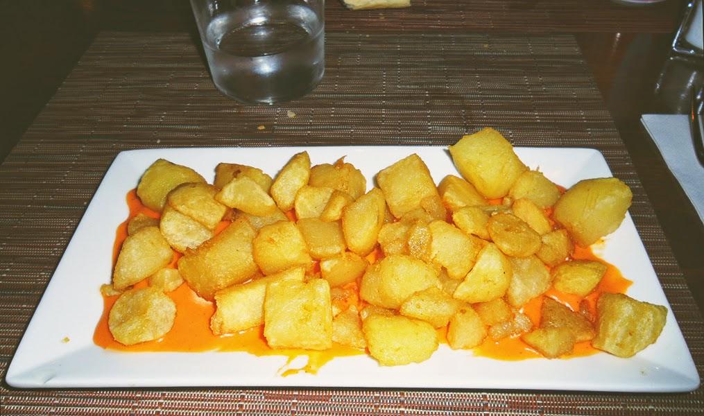 Patatas bravas a Madrid