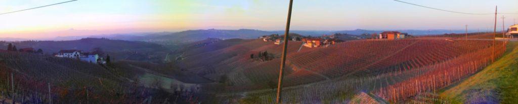 Panoramica langhe alba roero