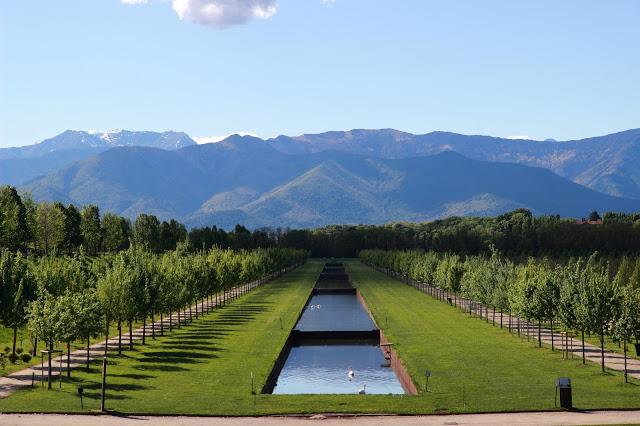 Giardini centrali Reggia Venaria Reale