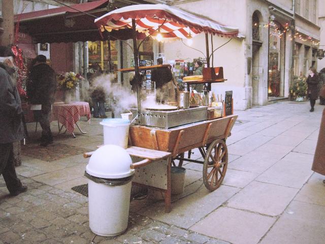 Carretto nelle vie della Vieux Lyon, Lione