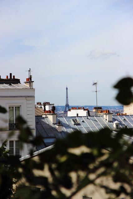 La Tour Eiffel da Montmartre