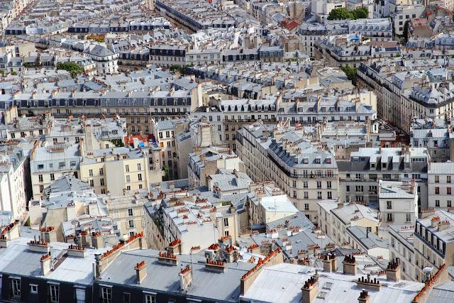 I tetti di Parigi dalla cupola del Sacro cuore