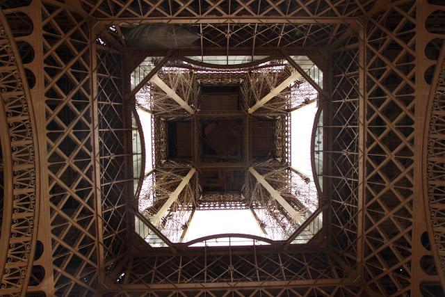 Sotto la Tour Eiffel, Parigi