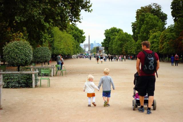 La bellezza di Parigi Giardini Tuileries
