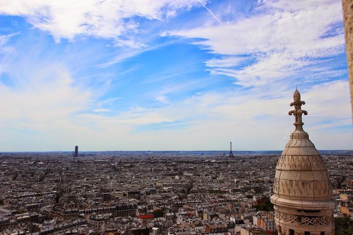Panorama sul Parigi dal Sacro Cuore