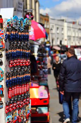 Calamite tipiche inglesi a Notting Hill