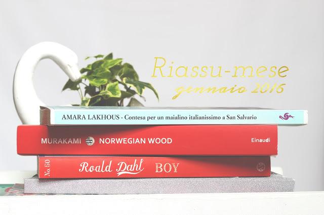 Libri e film consigliati Riassu-mese gennaio 2016