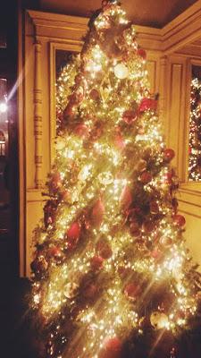 Albero di Natale al Del Cambio di Torino
