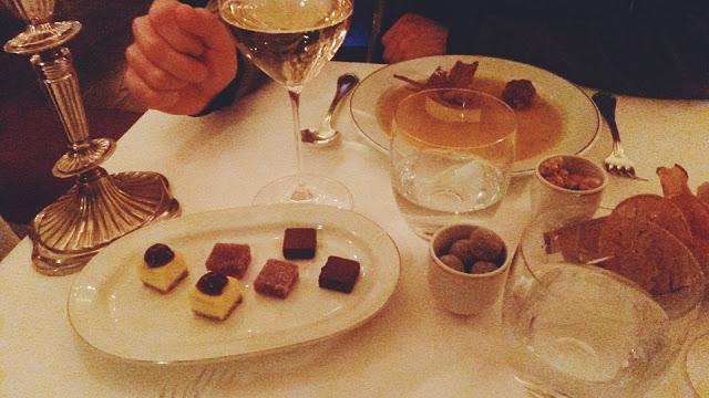 Dessert al Del Cambio di Torino