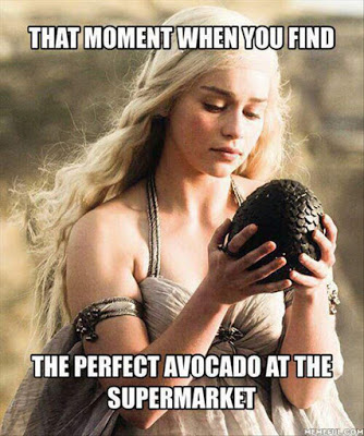 Quel momento in cui trovi l'avocado perfetto al supermercato Game of thrones operazionefrittomisto.it