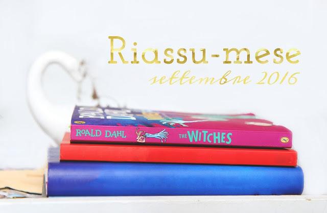 Riassu-mese settembre 2016 libri in inglese
