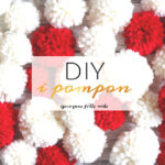 DIY: come fare i pom pon