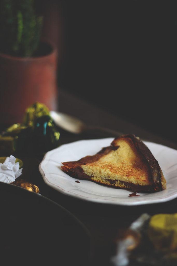 Sandwich con avanzi panettone e pandoro