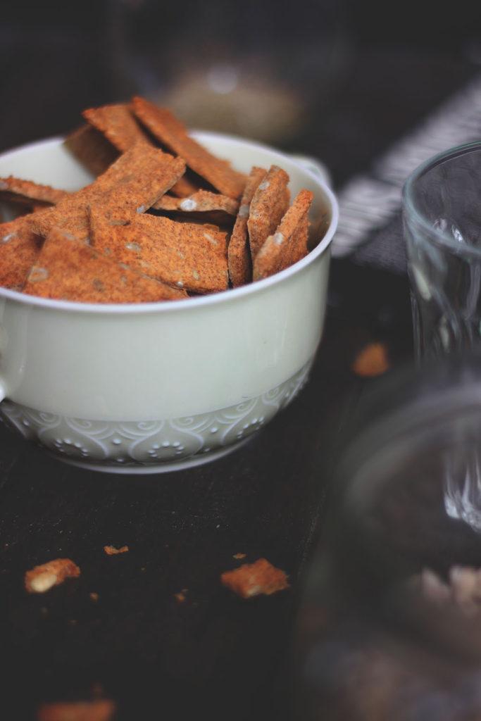 Crackers con farina di ceci www.operazionefrittomisto.it
