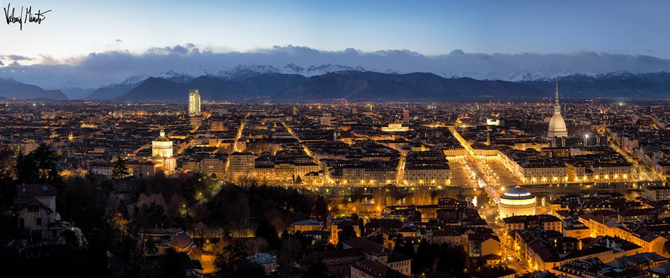 Panoramica Torino di Valerio Minato