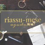 Riassu-mese agosto 2017