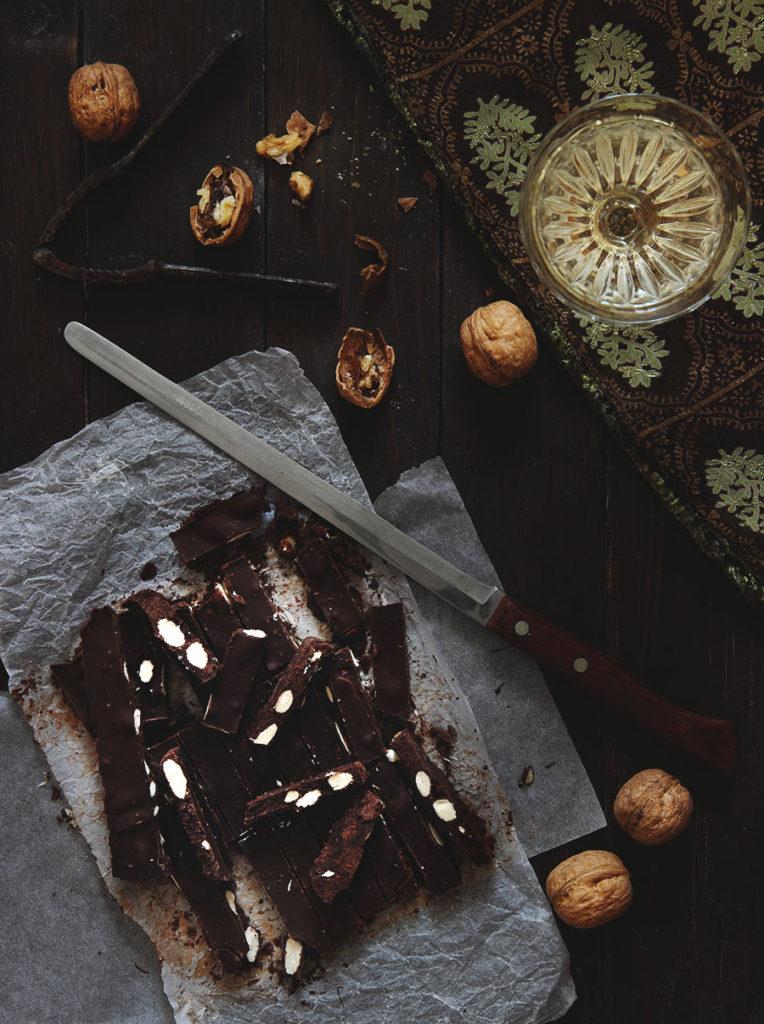 Torroncini al cioccolato in 2 ingredienti