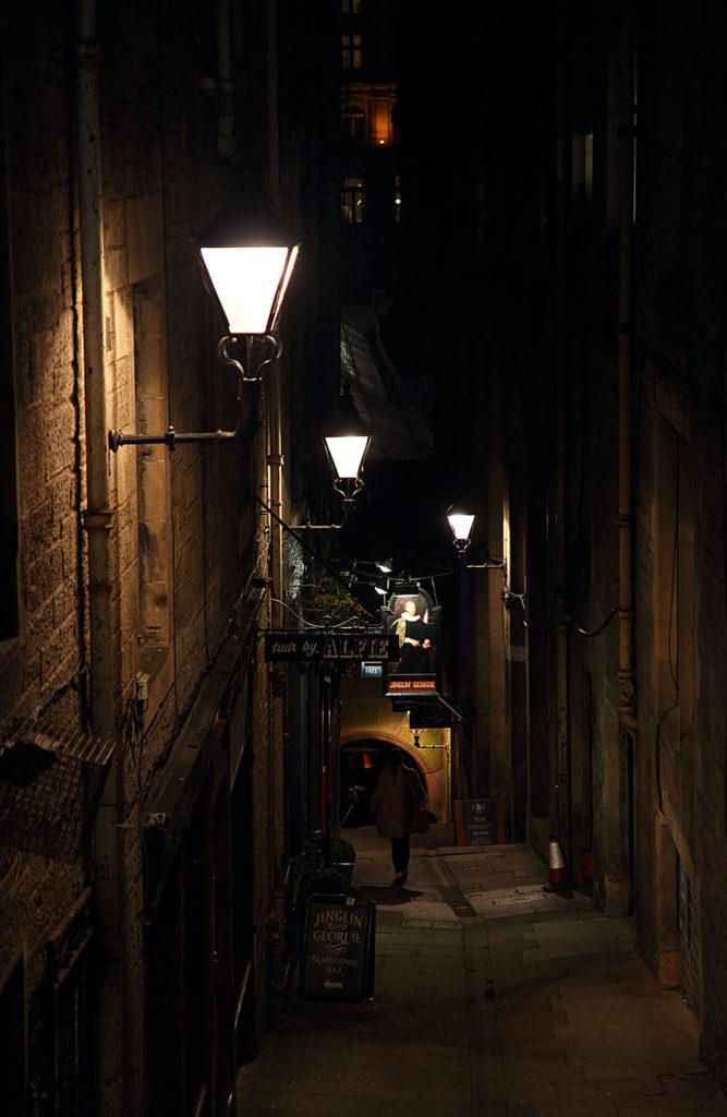 Closes della Old Town Edimburgo