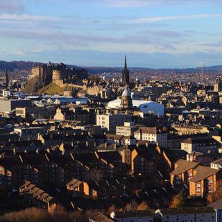 Edimburgo da Arthur's Seat