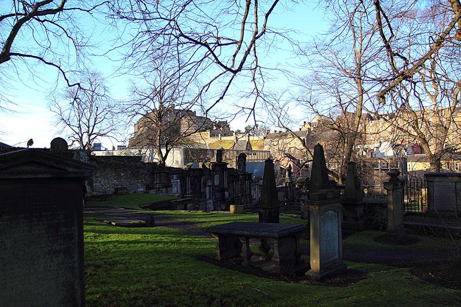 Greyfriars Kirkyard Edimburgo