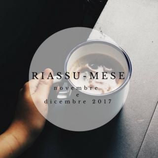 Riassu-mese novembre dicembre 2017